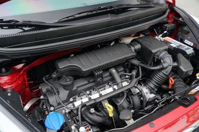 Động cơ xăng Kappa 1.25L với 4 xi lanh DOHC
