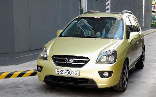 Xe Kia Carens 2010 – Chiếc xe MPV của mọi gia đình